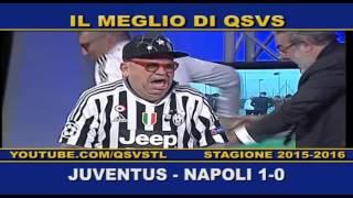 QSVS - I GOL DI JUVENTUS - NAPOLI 1-0 TELELOMBARDIA / TOP CALCIO 24