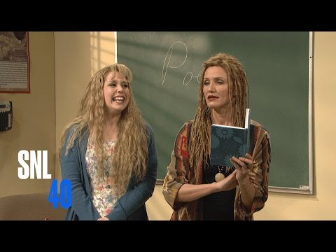 Poetry Class with Cameron Diaz SNL