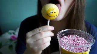 ASMR Lolipop With Sprinkles