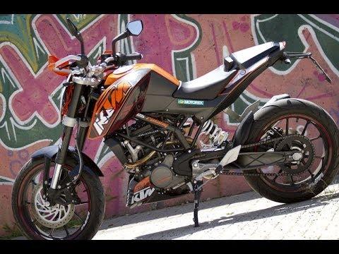 Prueba KTM 125 DUKE 2012