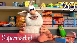 Booba - Supermarket - Episode 20 - Буба - Cartoon for kids