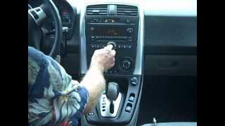 Saturn Vue Car Stereo Removal and Repair 2006-2007
