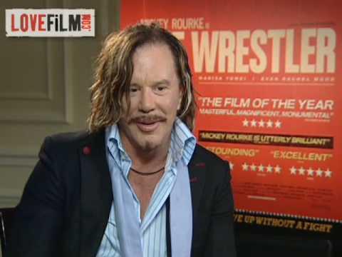 Mickey Rourke on new movie The Wrestler