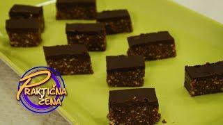 Praktična žena - Čokoladne kikiriki štanglice sa alvom