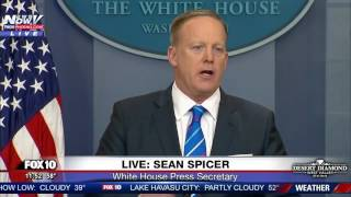 FULL: Sean Spicer White House Press Briefing 2/27/17