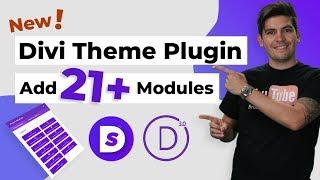 New Divi Theme Plugin! - Add 21 More Divi Modules To The Divi Theme!