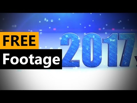 Xxx Mp4 Happy New Year 2017 Animation FREE Stock Video Footage Download Full HD 3gp Sex