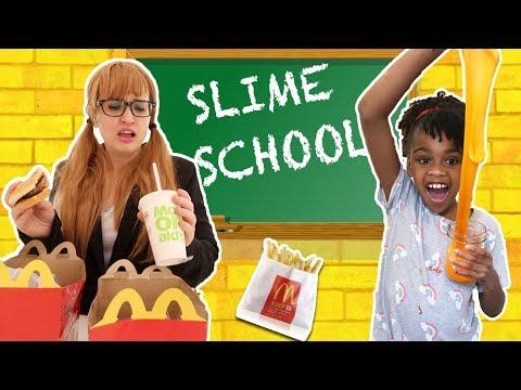 Xxx Mp4 Slime School Teacher Fail Students Sneak McDonalds Happy Meal Food New Toy School 3gp Sex