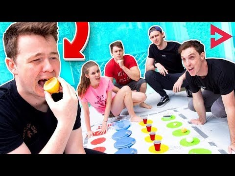 EXTREME DARE TWISTER Ft. Lazarbeam Muselk Loserfruit BazzaGazza and Marcus