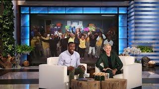 Ellen Surprises Incredible Teacher Mr. Bonner