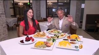 CBS LA with some amazing Persian Food in LA