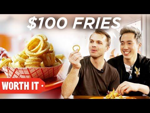 3 Fries Vs. 100 Fries