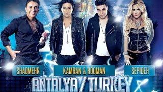 Mystery4 Nowruz Concert Series in Antalya Turkey. (9 Farvardin)