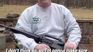 Man destroys the AR-15 rifle he's owned for over 30 years after Florida school shooting | ABC News
