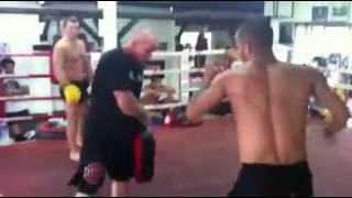 Judd Reid & Mohammad Bahrami dt working out