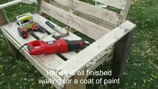 DIY Low Budget Pallet Bench
