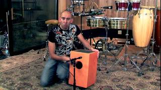 Roberto Serrano - CAJON - Video Instruccional