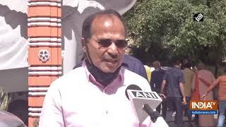 COVID-19 outbreak: Congress' Adhir Chowdhury distributes food among needy in Delhi