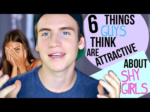 6 Things Guys Think Are Attractive About Shy Girls!