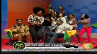 MONEY GALORE! Tallia Oyando in #WillyPoseChallenge #OneLove