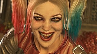 INJUSTICE 2 · ALL STORY CUTSCENES / CINEMATICS (Both Endings, All Alternate Paths)