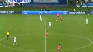 Barcelona vira sobre o estudiantes e é campeão mundial de clubles 2009 em Abu Dhabi