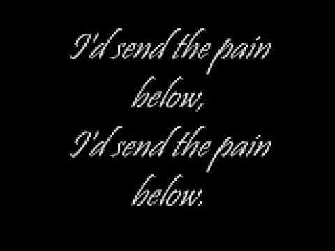 Send the pain below w lyrics - Chevelle