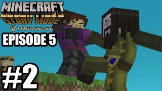 Minecraft Story Mode Episode 5 - Gameplay Walkthrough Part 2 - No Commentary