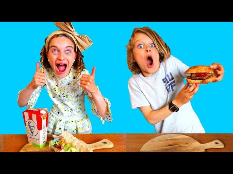 BURGER Twin Telepathy Challenge By The Norris Nuts