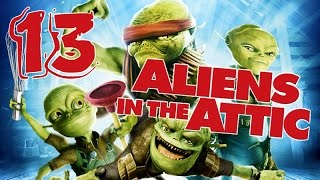 Aliens in the Attic Walkthrough Part 13 (PS2, Wii, PC) Movie Game - Level 13 -