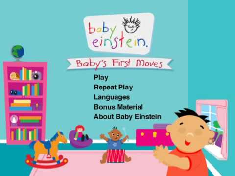 Baby s First Moves DVD Menu
