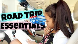 Road Trip Essentials + Outfit & Snacks