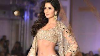 Katrina Kaif Hot In Traditiona Avatar At Manish Malhotra Fashion Show