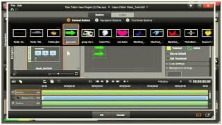Pinnacle Studio 16, 17 --  How to Make a Menu for a DVD