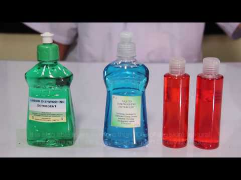 How to make Liquid Dish Washing Detergent E Learning ITDI DOST Philippines