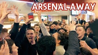 West Ham fans at Arsenal 2017 away day!