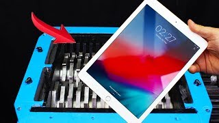 Experiment Shredding Apple Ipad And Toys Satisfying