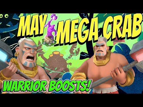 May Tribal Mega Crab - SNEAK PEEK (Stages 1-20) - Boom Beach