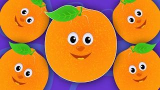 Five Little Oranges | Kids Rhymes | Nursery Rhymes | Baby Songs