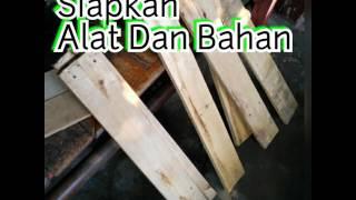 Cara membuat rak kayu