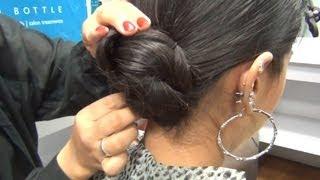 Hair Tutorial - Twisted Bun DIY