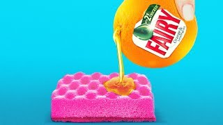 28 CLEANING HACKS YOU