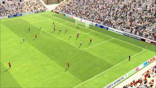 fm 2011 man utd 8 goal win !! tactics and stufs included