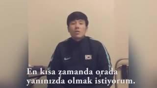 Hyun Jun Suk'tan Trabzonspor taraftarına mesaj