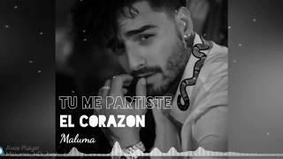 Maluma - Tu Me Partiste El Corazón- Nego do Borel, Anitta (Audio Oficial)