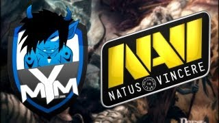 MYM vs Na`Vi - BEST DOTA 1 GAME