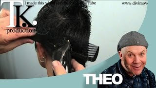 My man will love it! Petra's short to ultra short haircut and color by T K