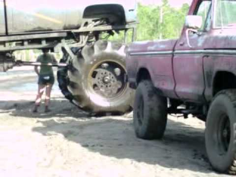 BAD ASS BIG TRUCKS IN THE MUD PART 2