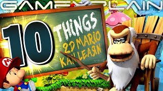 10 Lessons 2D Mario Can Learn from DKC: Tropical Freeze
