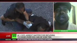 Rapper Xstrav Beatty gets arrested for refusing to give cop his iced tea